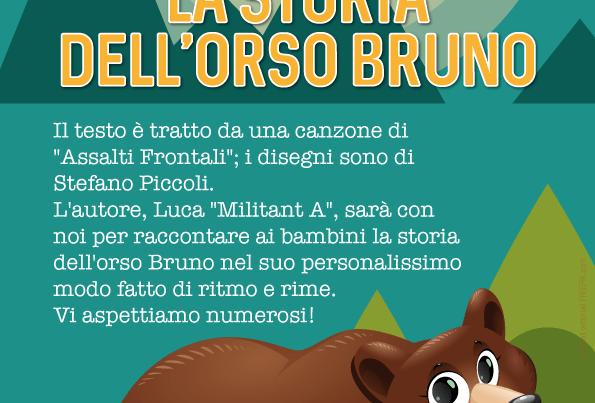 La storia dell'orso bruno