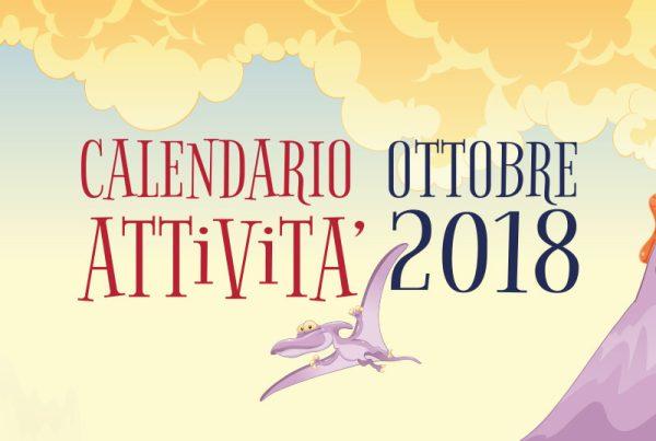 attività per bambini ottobre 2018